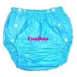 FUUBUU - 2203 PVC Inkontinenz-Schutzhose Gummihose knöpfbar Schwedenknöpfer