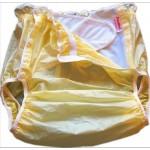 FUUBUU - 2219 PVC Inkontinenz-Schutzhose Gummihose knöpfbar Schwedenknöpfer Auslaufsperre