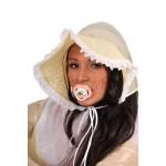 PUL PVC - Sissy - Haube Baby-Mütze AB19 SISSY BONNET
