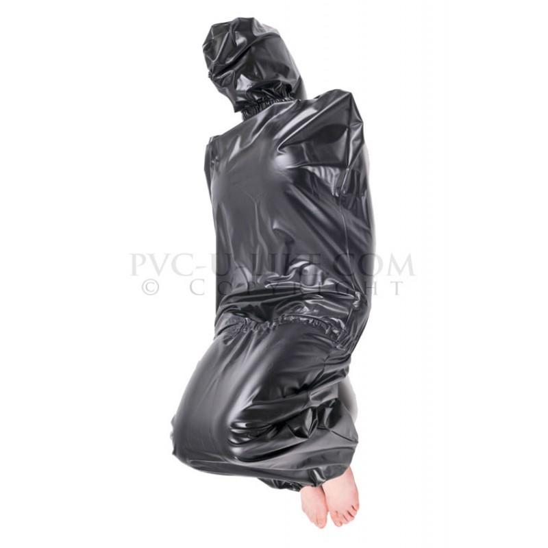 ADORE SEE bondage plastic bag accent