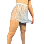 PUL PVC Gummihose Schutzhose mit Kopf-Öffnung PA02 BAG PANTS
