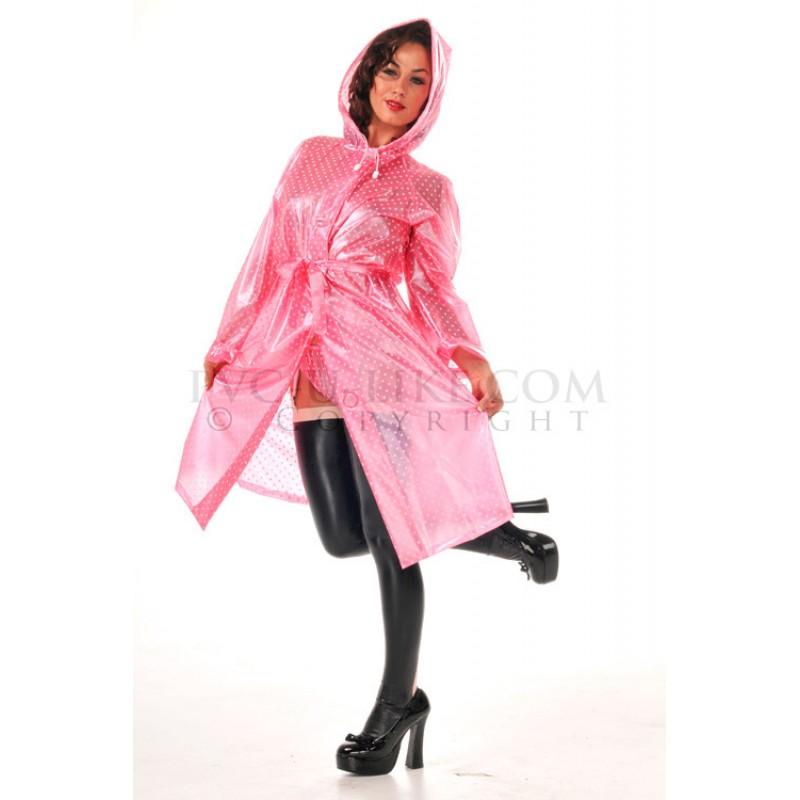 pul pvc plastik mantel regenmantel kapuze ra45 ladies. Black Bedroom Furniture Sets. Home Design Ideas