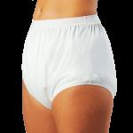 Suprima 1204 - PE/PU - Inkontinenzschutzhose Schlupfform Windelhose weiß