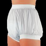 Suprima 1217 - PE/PU - Inkontinenzschutzhose Schlupfform Windelhose breiter Schnitt weiß