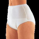 Suprima 1245 - Baumwoll - Inkontinenzschutzhose Windelhose Schlupform Slip weiß