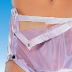 Suprima 1252 - PVC - Gummihose Inkontinenzschutzhose Windelhose knöpfbar Schwedenform lavendel - LAGERWARE