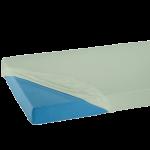 Suprima 3063-201 - PVC Bettauflage Bettschutz Laken Spannbetttuch PVC weiß 140x200x20cm