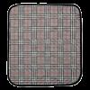 Suprima 3706-074 - Sitzauflage mit Anti-Rutsch-beschichteter Unterseite karo grau 40x50cm