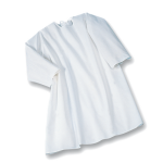 Suprima 4061-001 - Pflegehemd Baumwolle, zum Binden, Langarm weiß 40/42-52/54