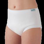 Suprima 8118 - Slip Baumwolle/PU für Kinder Schlupfform weiß